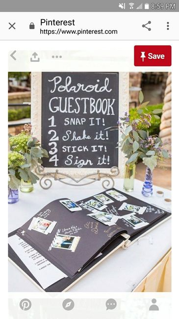 Guest book ideas 1