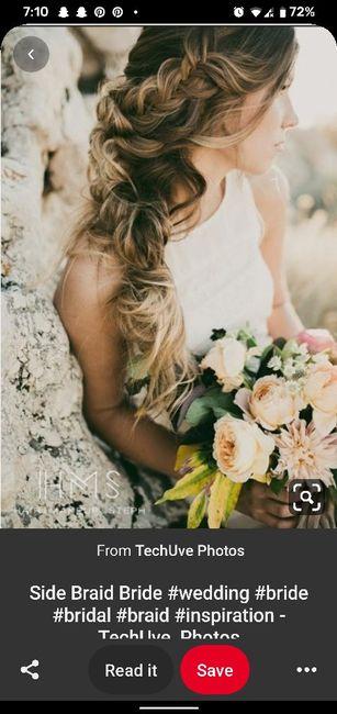 Windy Beach Wedding - Need Hair Help 12
