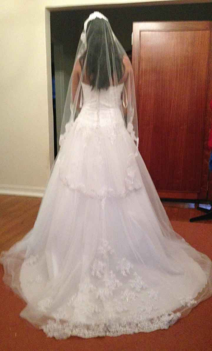 Show me your Davids Bridal dresses:)
