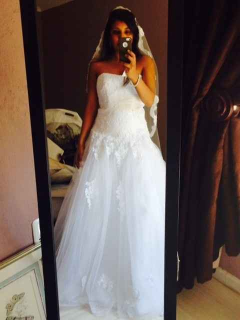 Pics: My final fitting! Love my dress<3 Belt or no belt?