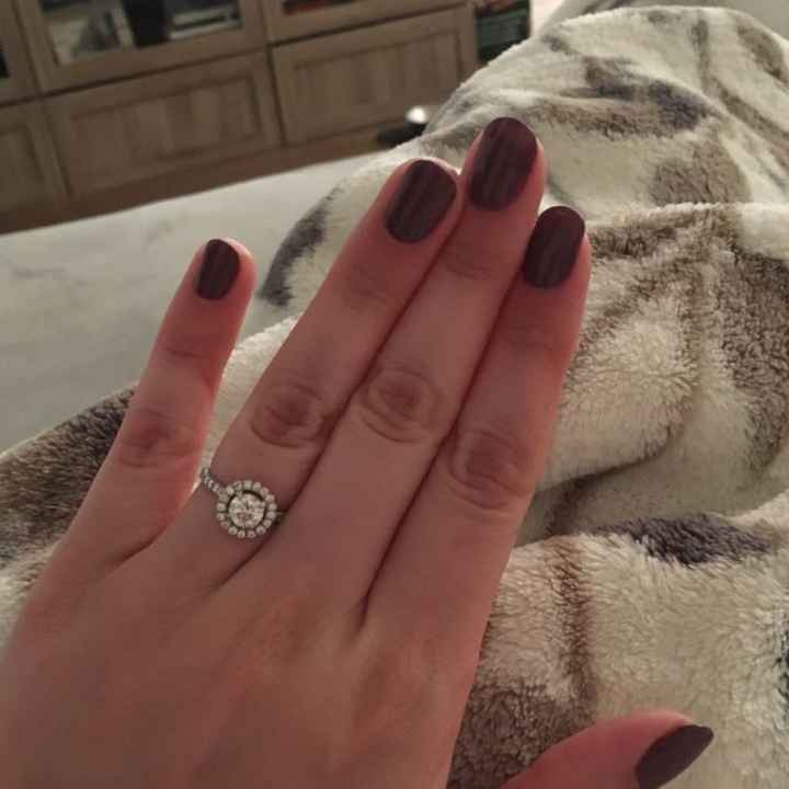 What nail color do you feel compliments your ring the best?