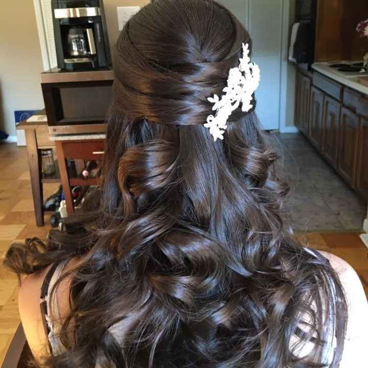 Can I see your wedding hair ?