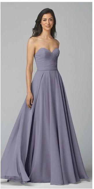 Blush wedding gown styling