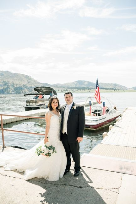 We did it! Here's our last minute 4th of July Wedding! 4