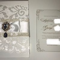 Finished product for my semi diy invites - 1