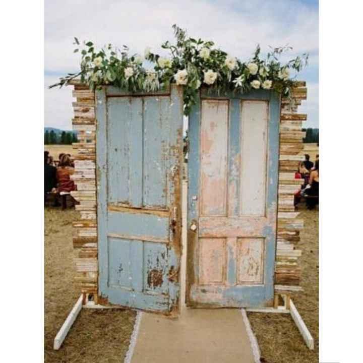 Wedding Entrance Doors - 1