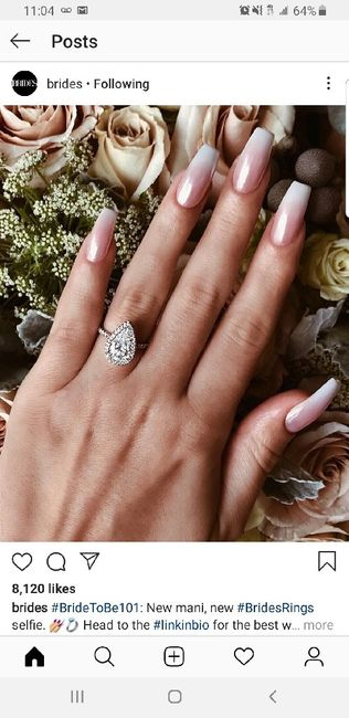 Let me see your wedding nails! 11