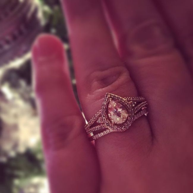 Who else has gemstones in their ring(s)?  Let's see them! 9