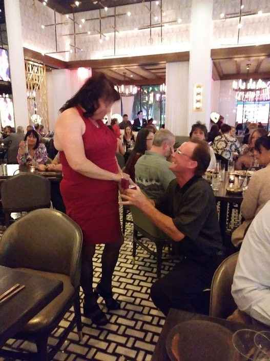 Proposed to me at Hell's Kitchen in Las Vegas!!  Excellent!