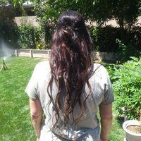 back of hair