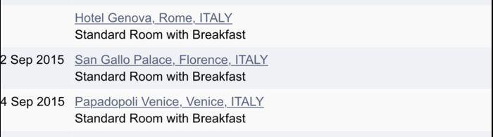 Just booked Honeymoon to Italy! 2