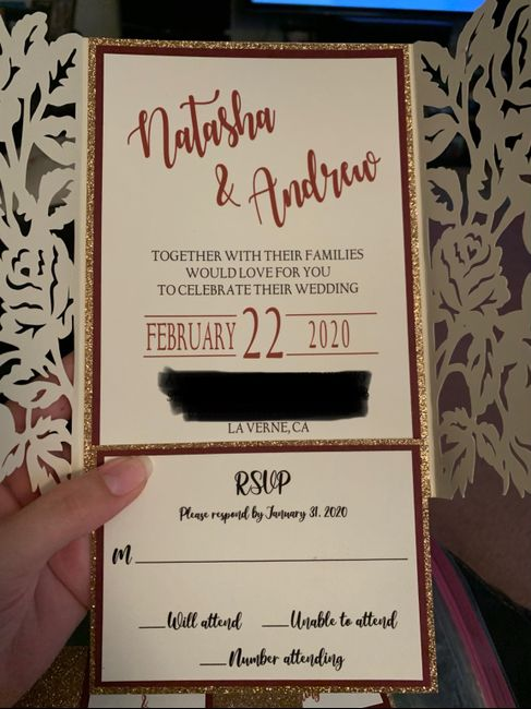 What do your invitations look like? - 2
