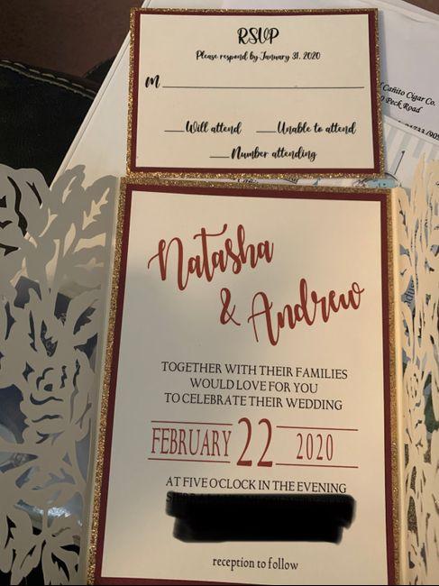 Invites are here!!! 🏰 - 1