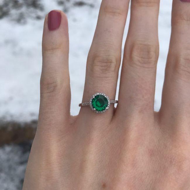 Show me your unique engagement rings! 1