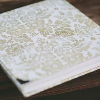 Non traditional guest book - 2