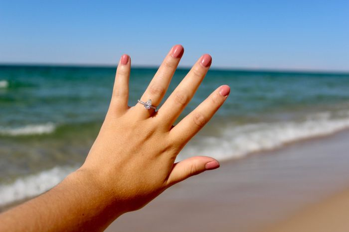Did you pick your ring or were you completely surprised? 8