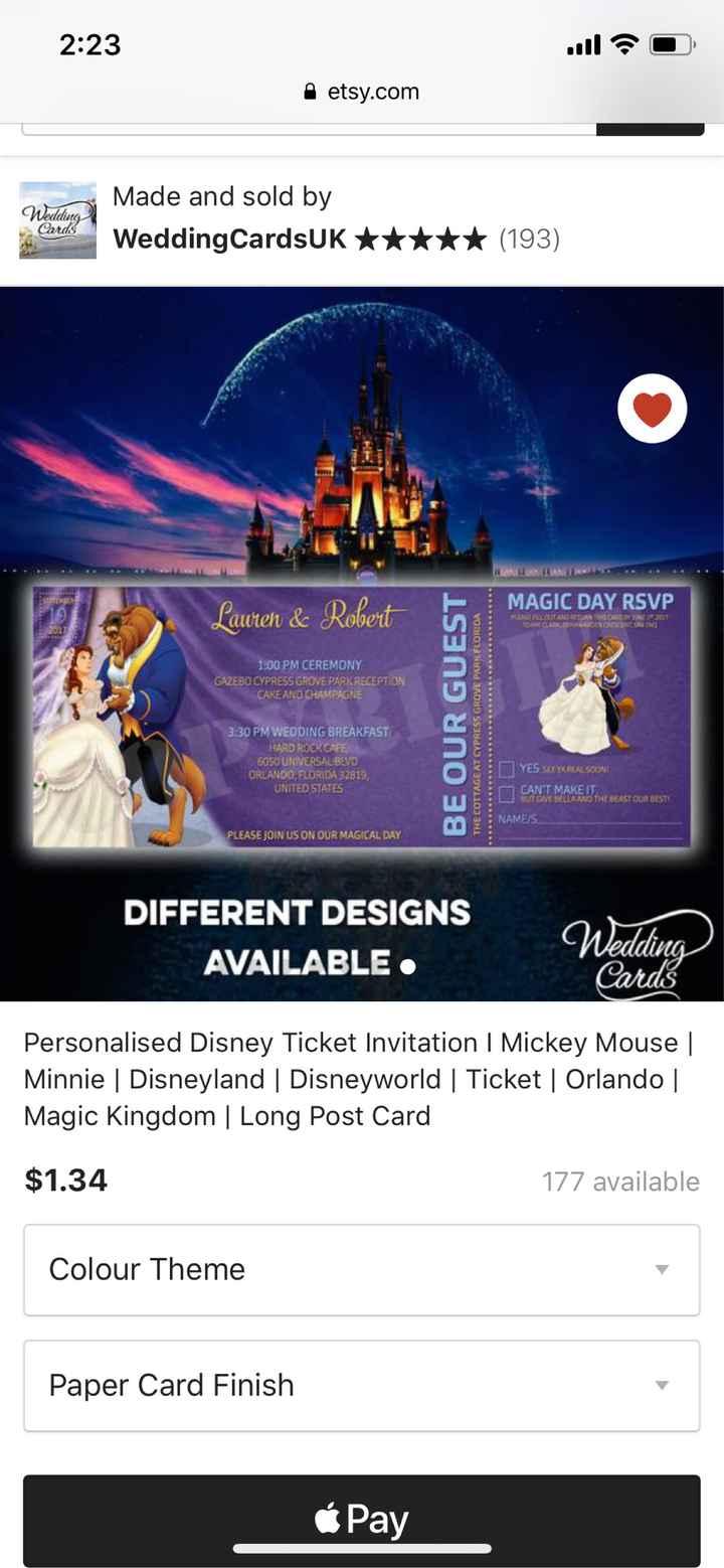 Disney Wedding - 3