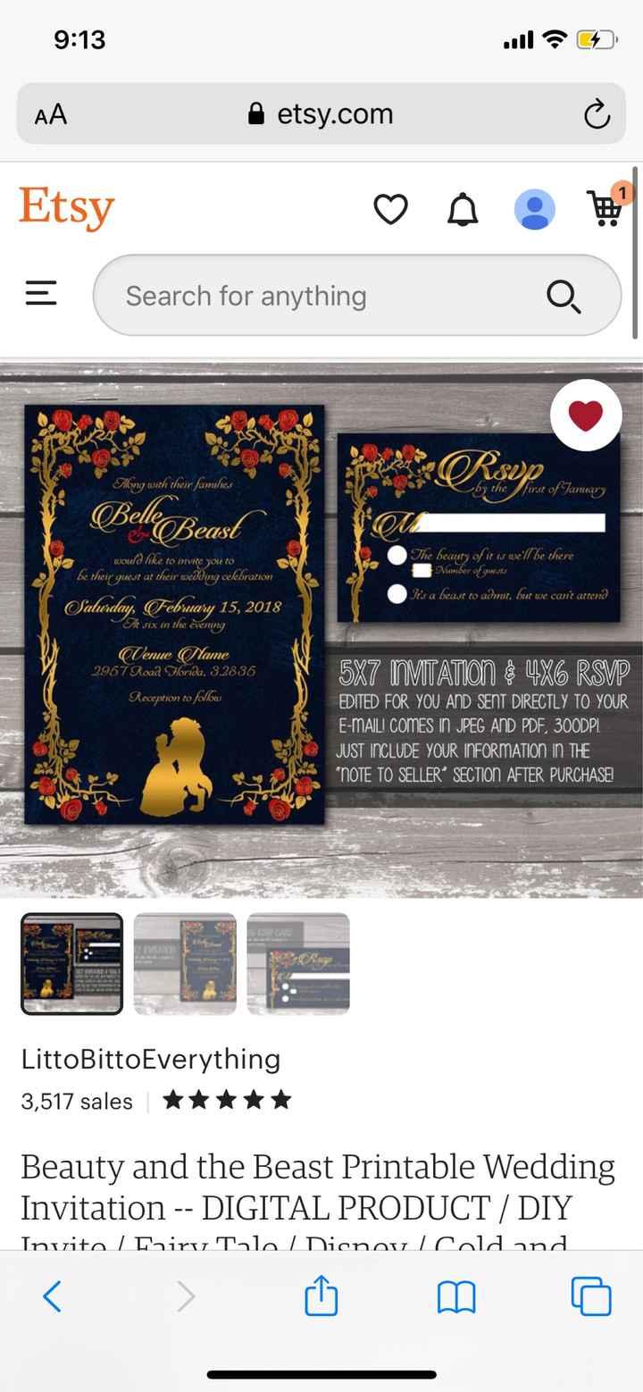 Disney Themed Wedding 2021-2024 - 2