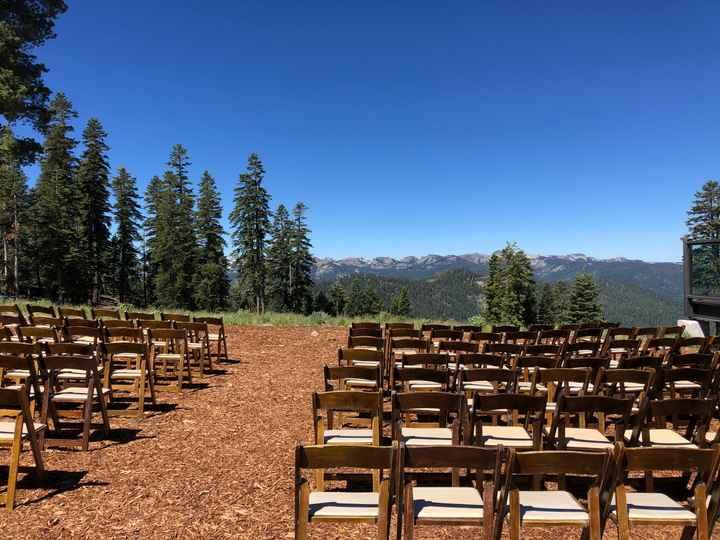 Show us your wedding venue! - 1