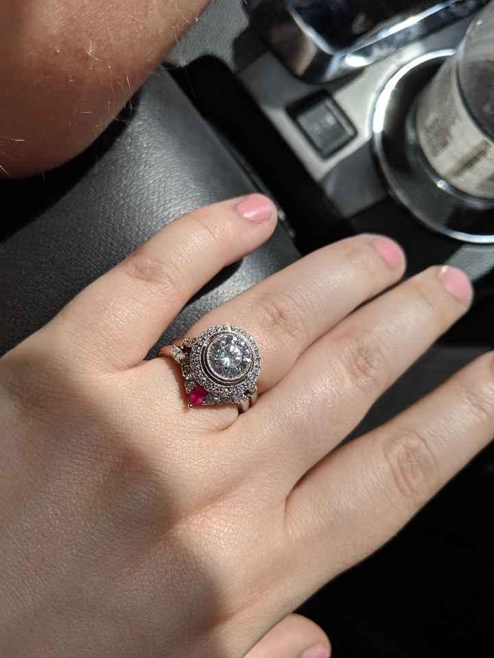 Moissanite Rings! - 1