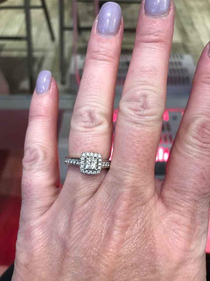 When did you get engaged? - 1