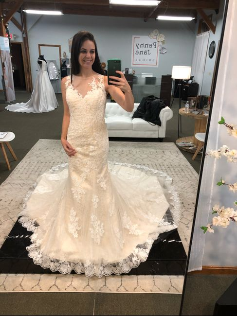 Did you say yes to the dress? 13