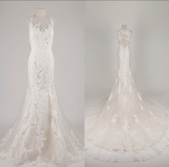 Does your wedding dress have lace, beading, or both? 15