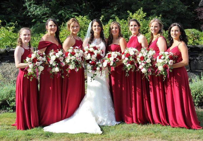 Bridesmaids dresses - 1