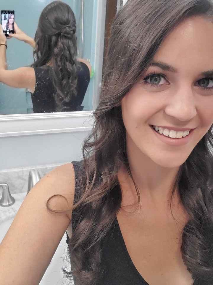 Hair/ Makeup trial photos - 2
