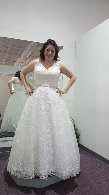 Who's going wedding dress shopping with you? 2