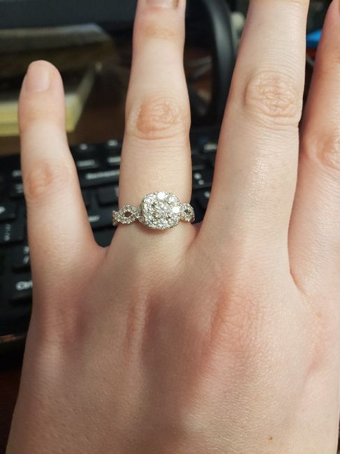 Did you pick your ring or were you completely surprised? 7