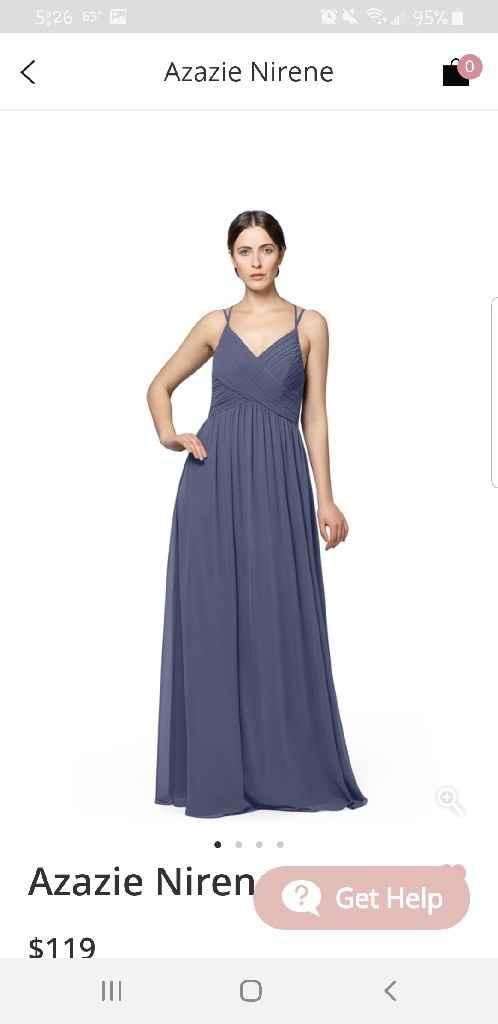 Bridesmaid dresses! - 1