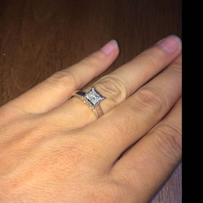 Brides of 2019!  Show us your ring! 12
