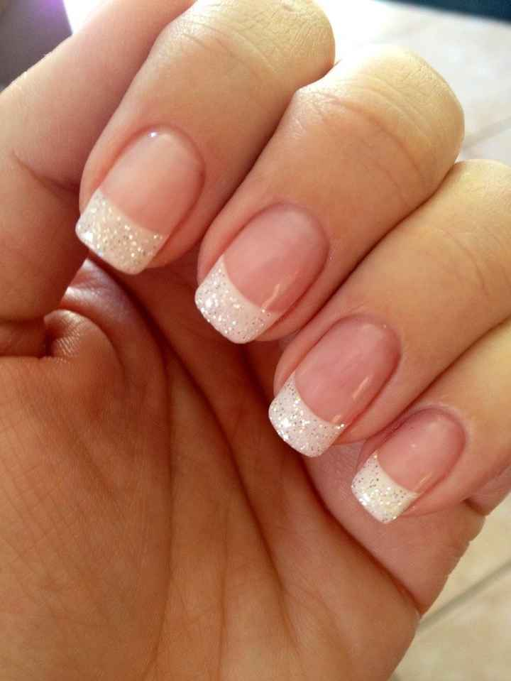 What's your wedding nail design?