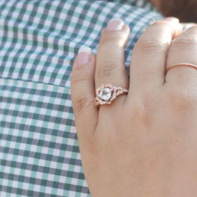 Show me your unique engagement rings! 8