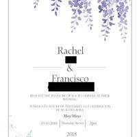 Bilingual invitation