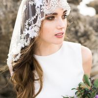 One style of a Mantilla