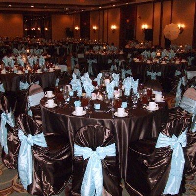 Chocolate Brown And Blue Wedding Weddings Style And Dcor