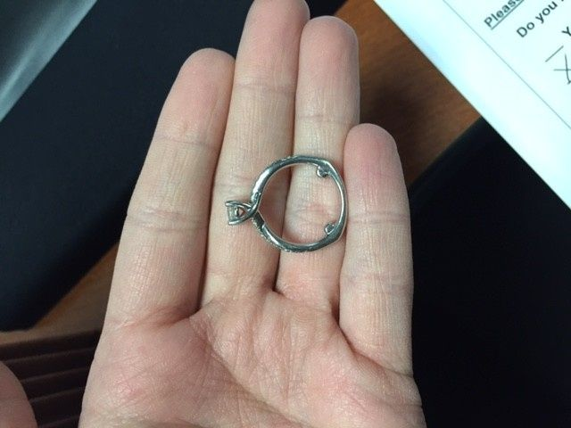 Spinning Engagement Ring Weddings Wedding Attire Wedding