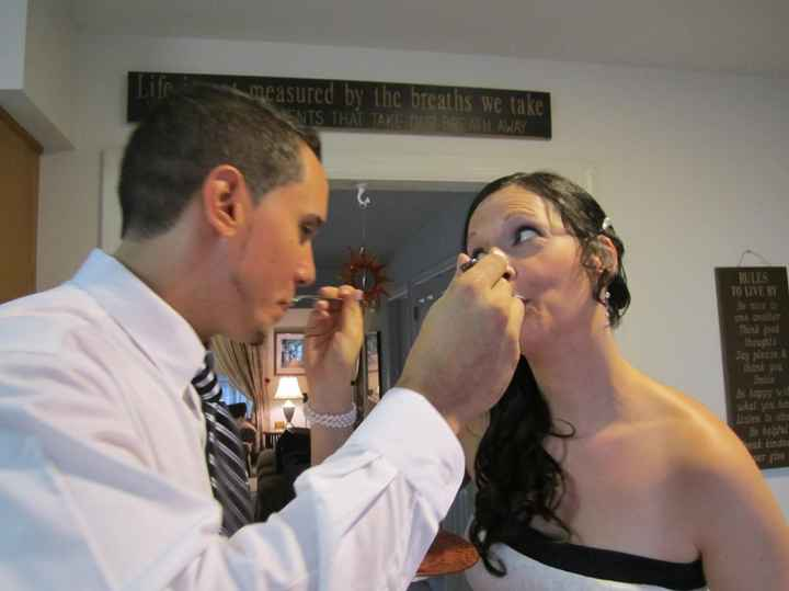 Married with promised *SCARF ELOPEMENT PICS* ;)