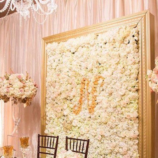 Flower Wall diy 2