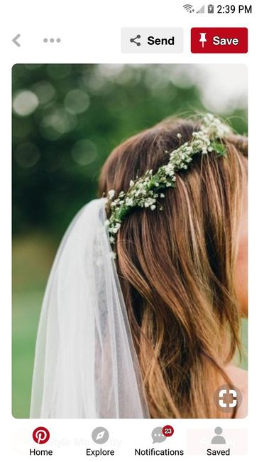Flower Crown and Veil 3