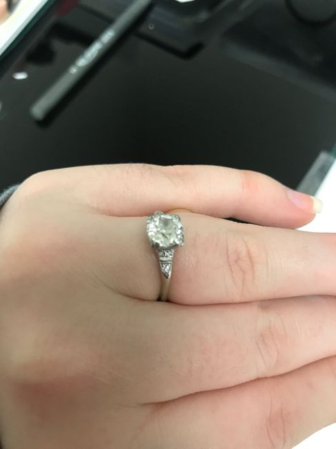 Vintage/antique/estate Rings - who else has one? 9