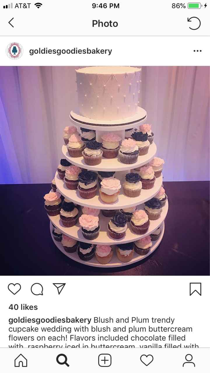 Substitute for a extravagant 5 tier wedding cake... - 1
