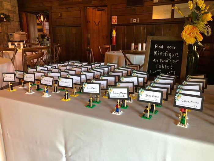 Tell me about the special touches at your wedding! 20