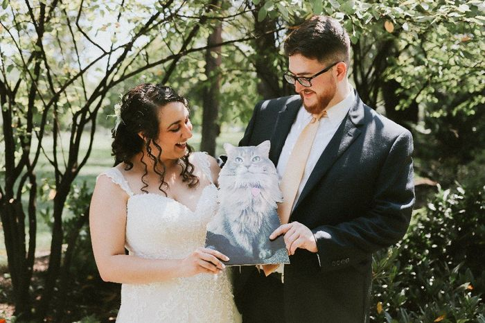 Tell me about the special touches at your wedding! 19