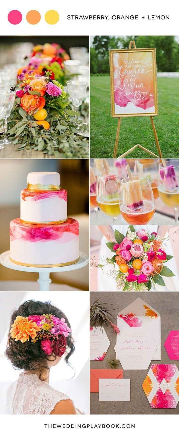 Calling all June, July, August, and September Brides: What is your Summer Wedding Inspiration? - 1