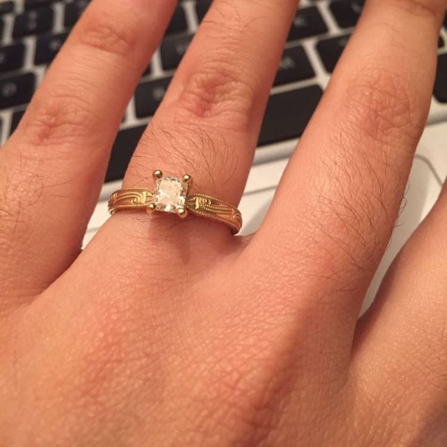 Brides of 2019!  Show us your ring! 5
