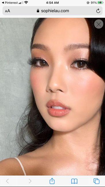 Makeup trial 1