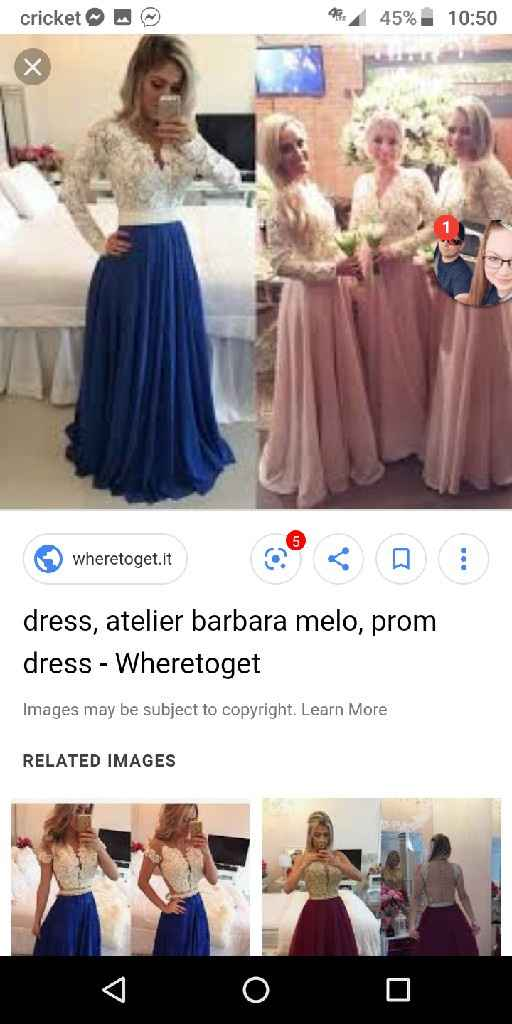 Bridesmaid dresses - 2